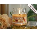 Lima Aroma Dreams Meruňka aromatická svíčka sklenička s víčkem 300 g