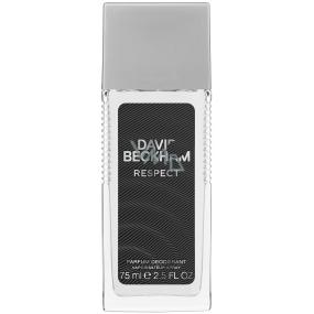 David Beckham Respect parfémovaný deodorant sklo pro muže 75 ml