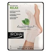 Iroha Relax Relaxační maska na nohy a nehty s mátou a přírodními výtažky 2 x 9 ml
