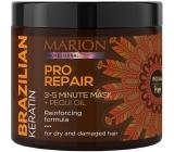 Marion Brazilský Keratin Pro Repair obnovující 3-5 minutová maska pro suché a poškozené vlasy 250 ml
