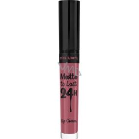 Miss Sporty Satin to Last Lip Cream tekutá rtěnka 210 3,7 ml