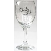 Albi Můj Bar Sklenka na víno 1979 270 ml