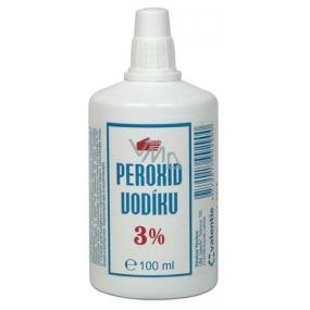 JSC Valentis Peroxid vodíku 3% pleťová čisticí voda k uvolnění a změkčení komedonů zejména u osob s mastnou pletí 100 ml