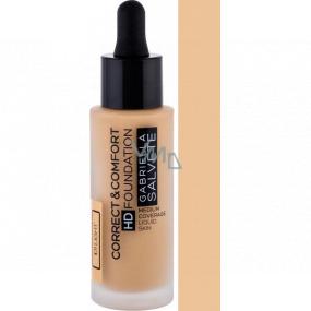 Gabriella Salvete Correct & Comfort HD Foundation make-up 101 Light 29 ml