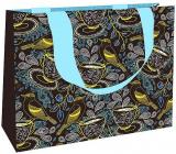 Nekupto Dárková papírová taška střední 23 x 17,5 x 10 cm Ptáčci 1867 LFM