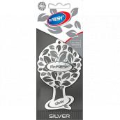 Mister Fresh Car Parfume Silver osvěžovač vzduchu závěsný 1 kus