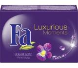 Fa Luxurious Moments Pink Viola toaletní mýdlo 100 g