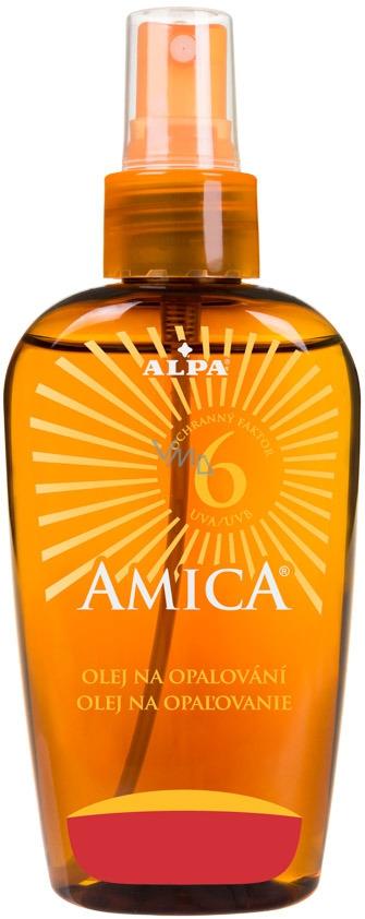 Alpa Amica OF6 olej na opalování 150 ml