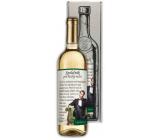 Bohemia Gifts Chardonnay Společník pro večer bílé dárkové víno 750 ml