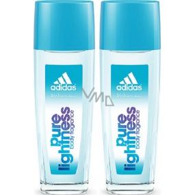 Adidas Pure Lightness parfémovaný deodorant sklo pro ženy 2x75 ml, duopack
