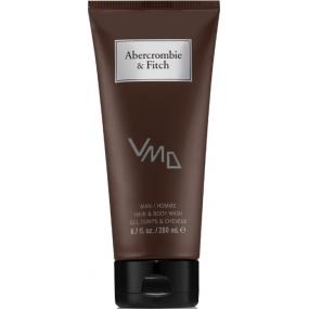Abercrombie & Fitch First Instinct sprchový gel na tělo a vlasy 200 ml