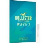 Hollister Wave 2 for Him toaletní voda 2 ml s rozprašovačem, Vialka