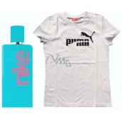 Nike Azure Woman toaletní voda 100 ml + triko Puma, dárková sada