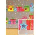 Nekupto Vánoční balicí papír Balíčky 2 x 0,7 m BVS Mix 10
