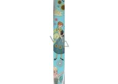 Disney Frozen Balicí papír Světle modrý, velké obrázky 70 x 200 cm