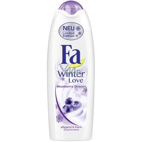 Fa Winter Love Blueberry Dream sprchový gel 250 ml