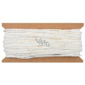 Provázek papírový bílý 30 m