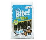 Brit Lets Bite Brushin bone dental kosti pochoutka dolňkové krmivo pro psy 90 g