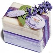 Le Chatelard Levandule a jasmín toaletní mýdlo 2 x 100 g