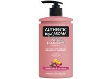 Authentic Toya Aroma Cranberries & Nectarine tekuté mýdlo dávkovač 400 ml