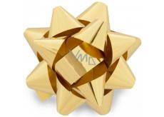 Nekupto Hvězdice střední metal zlatá 6,5 cm HX 127 01