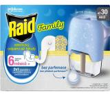 Raid Family elektrický odpařovač s tekutou náplní proti komárům 30 nocí 21 ml