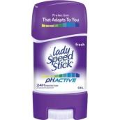 Lady Speed Stick Active Fresh pH antiperspirant deodorant gel stick pro ženy 65 g