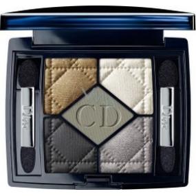 Christian Dior 5 Couleurs Designer paletka 5ti očních stínů Royal Kaki 454 odstín 6 g