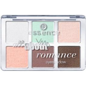 Essence All About Romance Eyeshadow paletka očních stínů 06 Romance 8,5 g