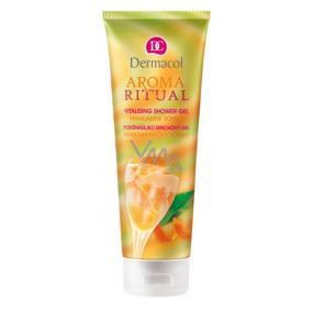 Dermacol Aroma Ritual Mandarinkový Sorbet Povznášející sprchový gel 250 ml