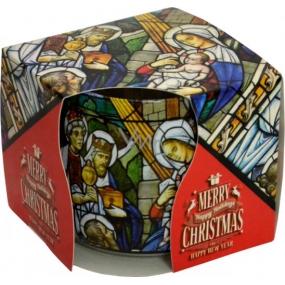 Admit Christmas Vitráž aromatická svíčka ve skle 100 g