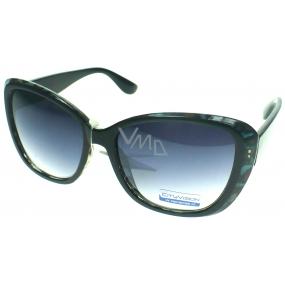 Nac New Age kategorie 3 černo modré sluneční brýle 023995
