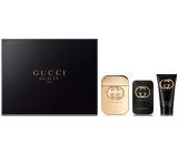 Gucci Guilty Eau Pour Femme toaletní voda 75 ml + Guilty tělové mléko 100 ml + Guilty sprchový gel 50 ml, dárková sada