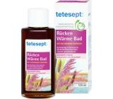 Tetesept Záda hřejivá pro uvolnění zádového a ramenního svalstva koupelový olej koncentrát 125 ml