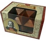 Albi Great Minds Galileo dřevěný hlavolam mini 5 x 4,5 x 7,5 cm