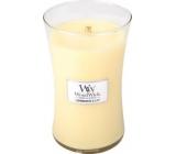 WoodWick Lemongrass & Lily - Citrónová tráva a lilie vonná svíčka s dřevěným knotem a víčkem sklo velká 609,5 g