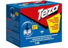 Teza Elektrický odpařovač proti komárům náhradní tekutá náplň 120 nocí 2 x 36 ml