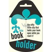 If Little Book Holder Držák na knihu Tyrkysový 75 x 2,5 x 75 mm