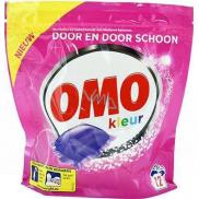 Omo Kleur Color Liquid Caps gelové kapsle na praní barevného prádla 12 dávek 315 g