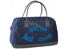 Roberto Cavalli Just Fun Just Cavalli sportovní taška modrá 41 x 26 x 19 cm 1 kus
