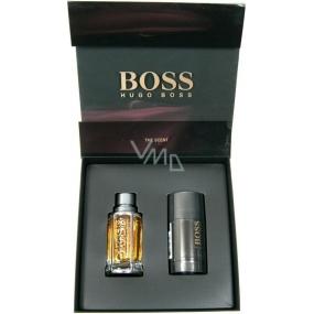 Hugo Boss Boss The Scent for Men toaletní voda 50 ml + deodorant stick 75 ml, dárková sada