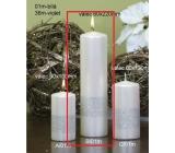 Lima Stuha svíčka bílá válec 60 x 220 mm 1 kus