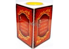 Nekupto Keramický svícen 002 Bůh nemůže být všude, proto stvořil babičky 9 x 6 cm