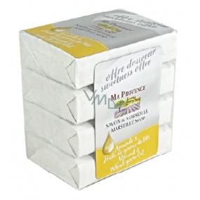 Ma Provence Bio Mandlový olej toaletní mýdlo 4x75g