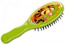 Disney Medvídek Pú Tygr kartáč na vlasy pro děti 18 cm