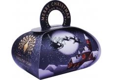 English Soap Veselé Vánoce Zimní přírodní parfémované mýdlo s bambuckým máslem 260 g