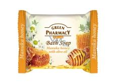 Green Pharmacy Manuka a Med a Olivový olej toaletní mýdlo 100 g