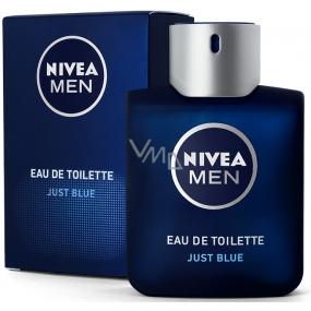 Nivea Men Just Blue toaletní voda 100 ml