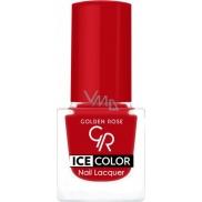 Golden Rose Ice Color Nail Lacquer lak na nehty mini 142 6 ml