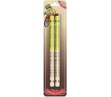 Nekupto Hobby dřevěné tužky Vášnivý cyklista 2 kusy